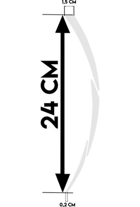 Çınar Extreme Beyaz Nmax Yazılı 3 Parçalı Reflektif Beyaz Nmax Jant Şeridi