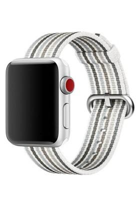 Booyse Apple Watch 2-3-4 Serisi Uyumlu Spor Loop Gökkuşağı Saat Kordon Kayış - 38 - 40Mm