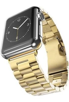 Booyse Apple Watch 2-3-4 Serisi Uyumlu Metal Saat Kordon Kayış - 38 - 40Mm