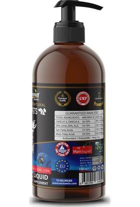 Mutamin Organics Norveç Somon Balık Yağı 150 ml