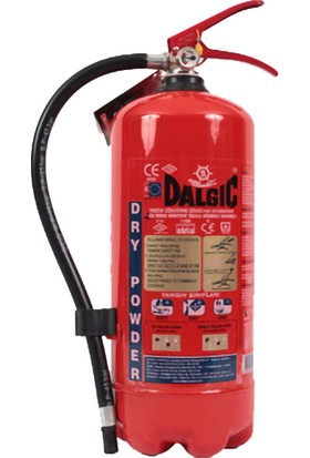 Dalgıç 4 Kg Abc Kuru Kimyevi Tozlu Yangın Söndürme Cihazı Tse'Li