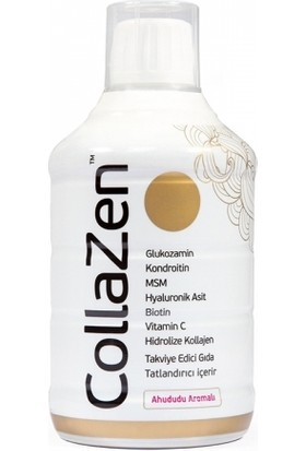 CollaZen Ahududulu Kollajen Takviye Edici Gıda 500 ml