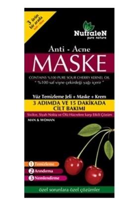 Nutralen Anti Acne Yüz Temizleme Jeli + Maske + Krem