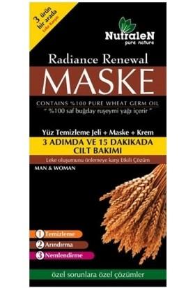 Nutralen Radiance Renewal Yüz Temizleme Jeli + Maske + Krem