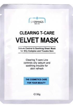 Sferangs Clearing T-Care Velvet Mask 30 gr 5 Adet