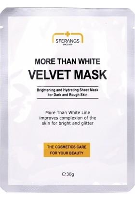 Sferangs More Than White Velvet Mask 30 gr 5 Adet