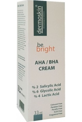 Dermoskin Be Bright AHA/BHA Krem 33 ml