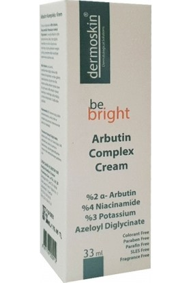 Dermoskin Be Bright Arbutin Kompleks Krem 33 ml