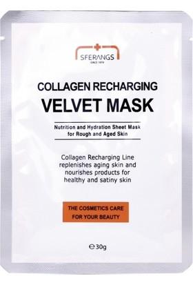 Sferangs Collagen Recharging Velvet Mask 30 gr 5 Adet