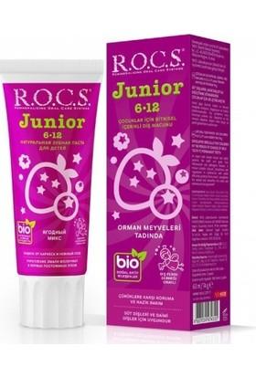 ROCS Junior 6-12 Yaş Diş Macunu - Orman Meyveleri Tadında 60 ml