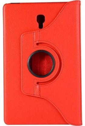 """Casestore Samsung Galaxy Note N8000 10.1"""" Tam Koruma 360 Dönebilen Standlı Tablet Kılıfı + Ekran Koruyucu Cam - Kırmızı"""