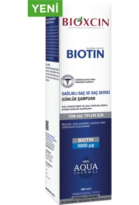 Bioxcin Biotin Şampuan 300 ml | Tüm Saç Tipleri