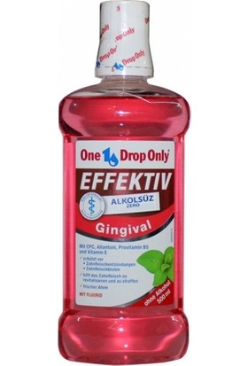 One Drop Only Gingival Alkolsüz Ağız Gargarası 500 ml