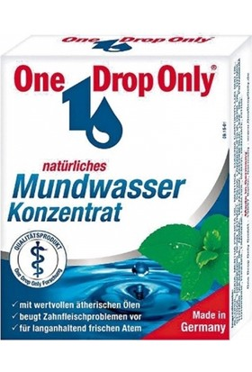 One Drop Only Konsantre Ağız Gargarası 50 ml