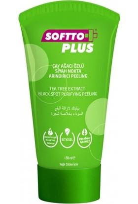 Softto Plus Çay Ağacı Özlü Bitkisel Peeling