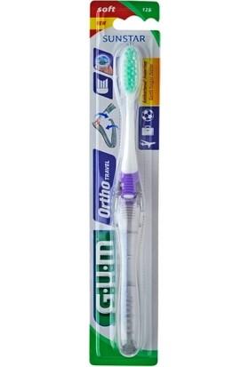 Sunstar Gum Ortho Travel Yumuşak Başlıklı Diş Fırçası