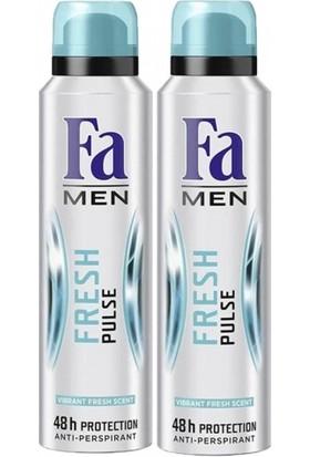 FA Deosprey Fresh Pulse Erkek 150 ml+150 ml