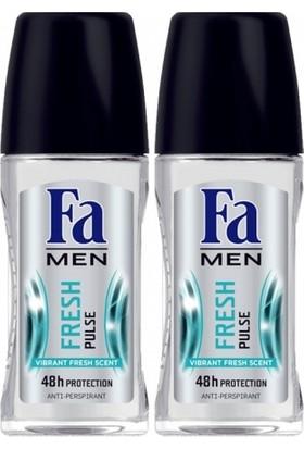 FA Roll-on 2'li Fresh Pulse Erkek 50 ml+50 ml
