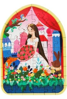 Forus Gül Prensesi / 24 Parça Ahşap Puzzle