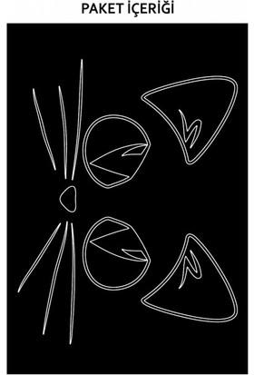 Artikel Kedi-2 Araç Sticker 21 x 29 Cm