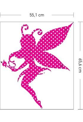 Artikel Benekli Peri Desenli Duvar Sticker 55 x 65 Cm
