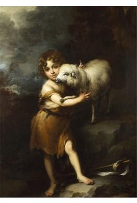 Artikel Bartolomé Esteban Murillo - The Infant Saint John With The Lamb 50 x 70 Cm