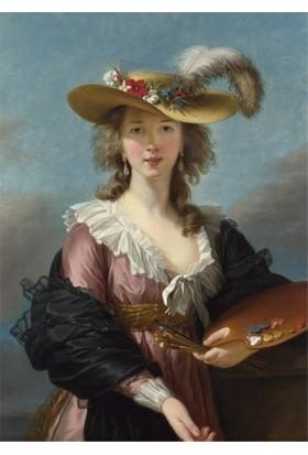 Artikel Elizabeth Louise Vigée Le Brun - Self Portrait İn A Straw Hat 50 x 70 Cm