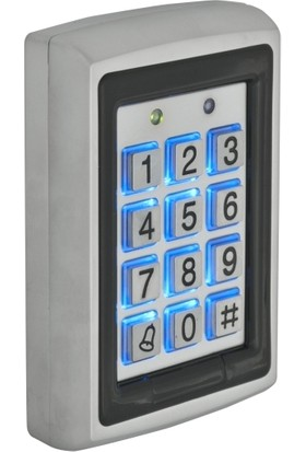 ZKTeco Şifreli ve Kart Okuyucu Kapı Kontrol Metal Kasa