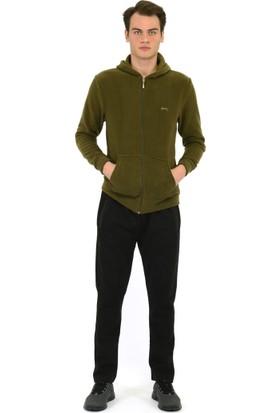 Slazenger Safari Haki Erkek Sweatshirt