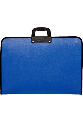 Gözde Proje Standart 38*53 Cm. Mavi Proje Çantası