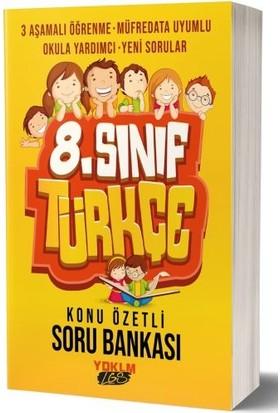 Yediiklim Yayınları 8.Sınıf Lgs Türkçe Konu Özetli Soru Bankası