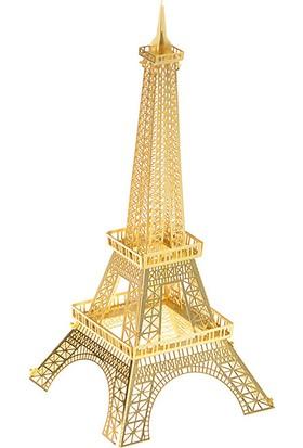 Soico Metal Model Kit Lazer Kesim Eyfel Kulesi Altın Rengi
