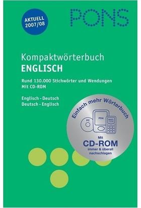 Pons Kompaktwörterbuch Englisch Deutsch