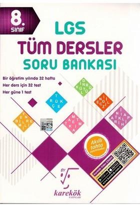 Karekök 8. Sınıf LGS Tüm Dersler Soru Bankası