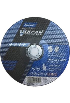 Norton Vulcan 180x3,0 Metal ve İnox Kesici Taş