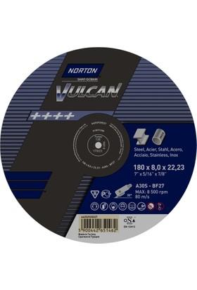 Norton Vulcan 180x8,0 Metal ve İnox Taşlama Taşı