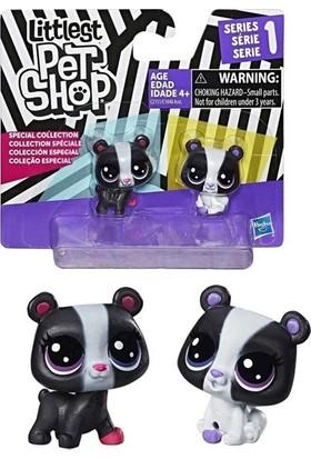 Littlest Pet Shop Minişler Siyah Beyaz Koleksiyonu - 1 C1848