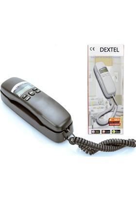 Dextel Dex 023 CID Duvar Tipi Sabit Telefon - Siyah