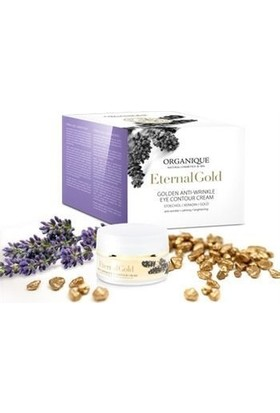 Organique Eternal Gold Anti Wrinkle Eye Contour Cream 15 ml