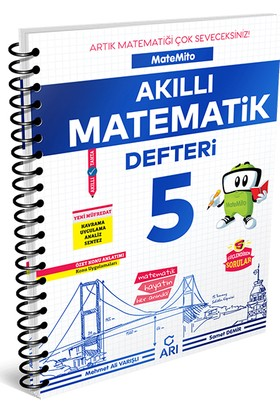 Arı 5. Sınıf MateMito Akıllı Matematik Defteri