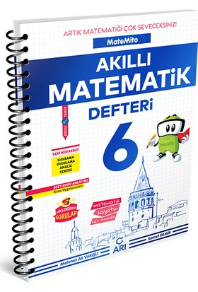 Arı 6. Sınıf MateMito Akıllı Matematik Defteri