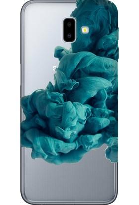 Cekuonline Samsung Galaxy J6+ Plus Desenli Esnek Silikon Telefon Kapak Kılıf - Egzotik Karışım