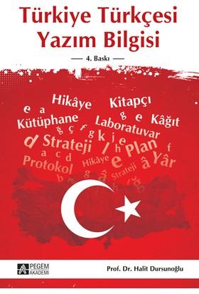 Türkiye Türkçesi Yazım Bilgisi - Halit Dursunoğlu