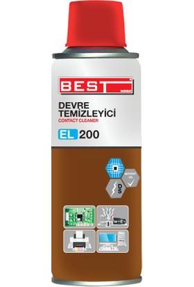 Best El-200 Devre Temizleyici Kontak Sprey Format Yağsız 200 Ml