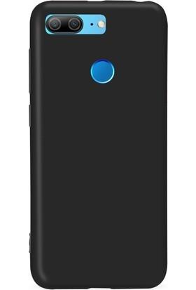 Smody Xiaomi Honor 9 Lite Kılıf Mat Silikon TPU Ultra Elastik + Ekran Koruyucu Cam