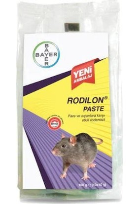 Bayer Rodilon Paste Fare Zehiri 10x10gr