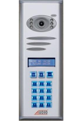 Audio Tekideal 13 Daire 4,3 İnç Görüntülü Diafon Sistemi Krem Kapaklı