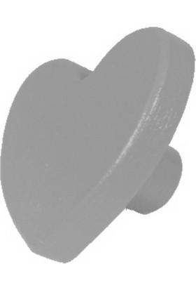 Kralkulp Kalpli Kulp Modeli, Bebek Ve Çocuk Odası Kulp 6 Adet Gri