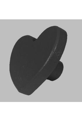 Kralkulp Kalpli Kulp Modeli, Bebek Ve Çocuk Odası Kulp 6 Adet Siyah