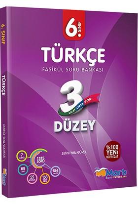 Martı 6. Sınıf Türkçe 3 Düzey Fasikül Soru Bankası